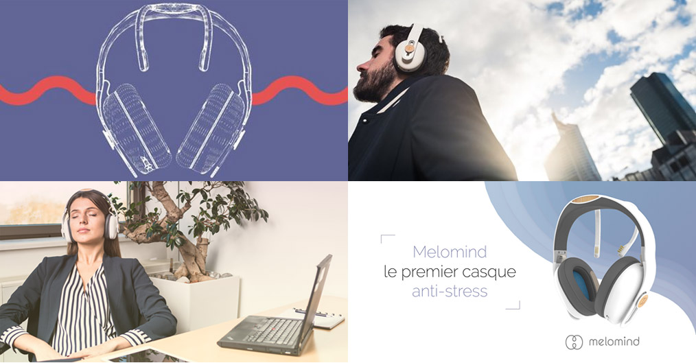 Le casque anti-stress Melomind.