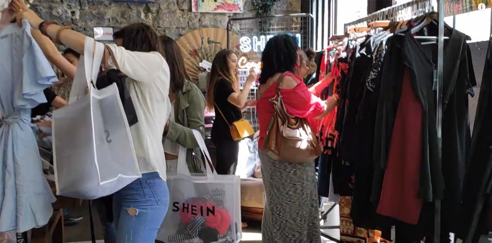 Pop-up store SheIn à Lyon